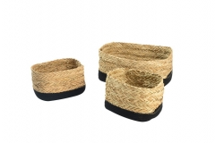 Seagrass & cotton rope baskets